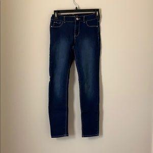 Jordache Super Skinny Girls Size 12 Dark Wash Jean
